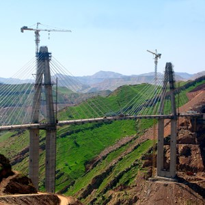 Lali Cable-Stayed Bridge