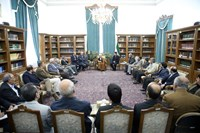 Meeting with Ayatollah Hashemi Rafsanjani